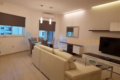 Rent Two Bedroom Apartment Gzira Malta