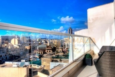 Rent Penthouse St Julians
