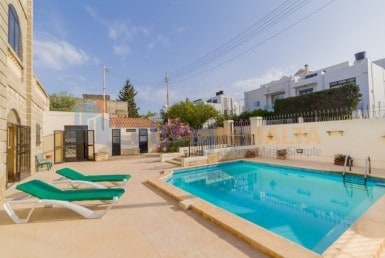 Semi Furnished Villa Pool St Julians