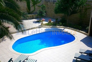 Maltese Farmhouse Pool Long Lets