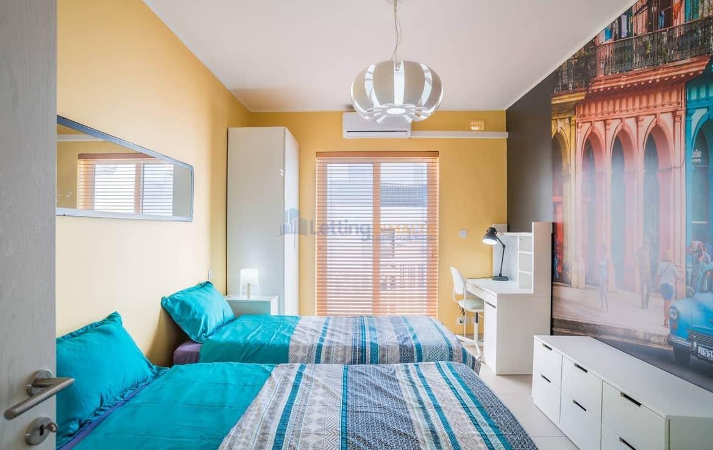 Rent Gzira 3 Bedroom Apartment