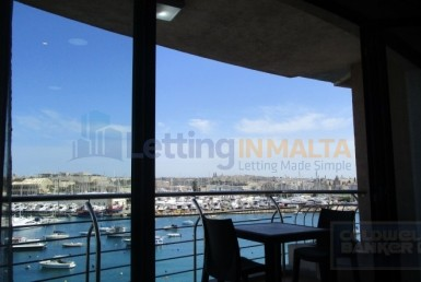 Rent Gzira Seafront 3 bedroom Apartment