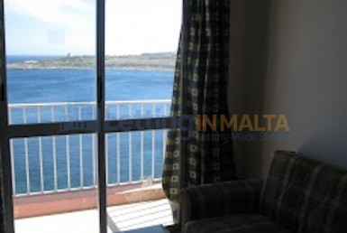 Qawra Flat For Rent Malta Sea Front