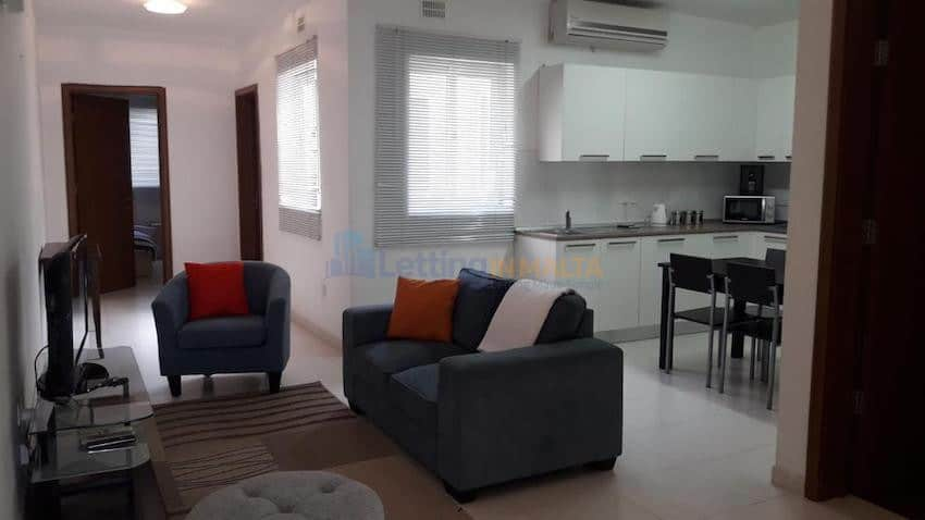 Penthouse Property To Let Malta