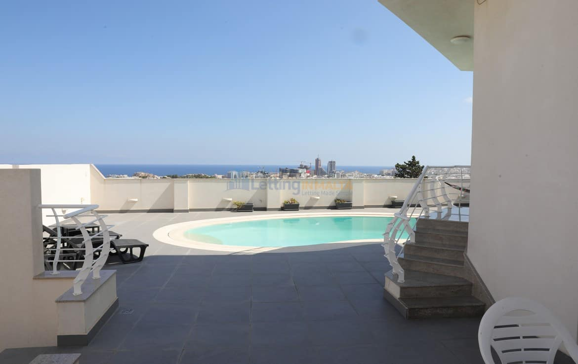 Semi Detached Modern Villa To Let Malta
