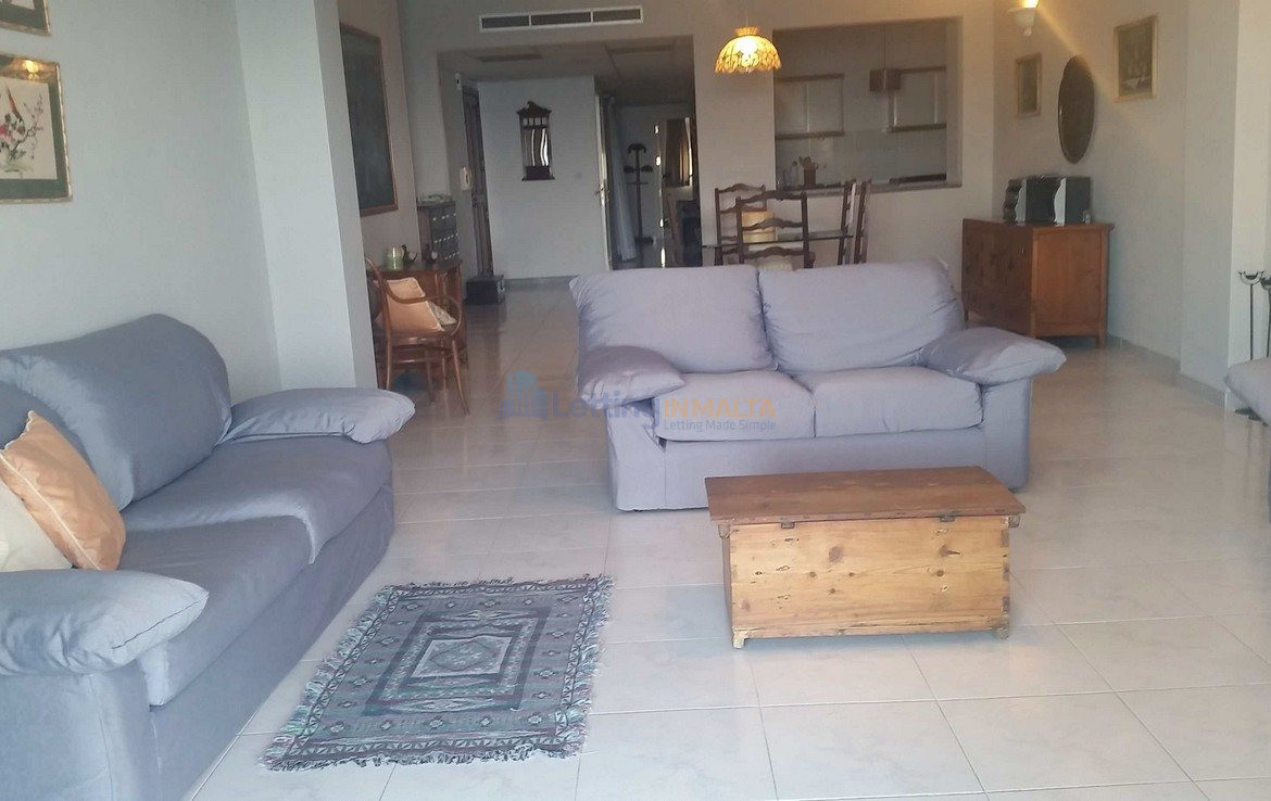 Seafront Apartment St Julians To Let